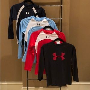 Set of Four UA Long-sleeves